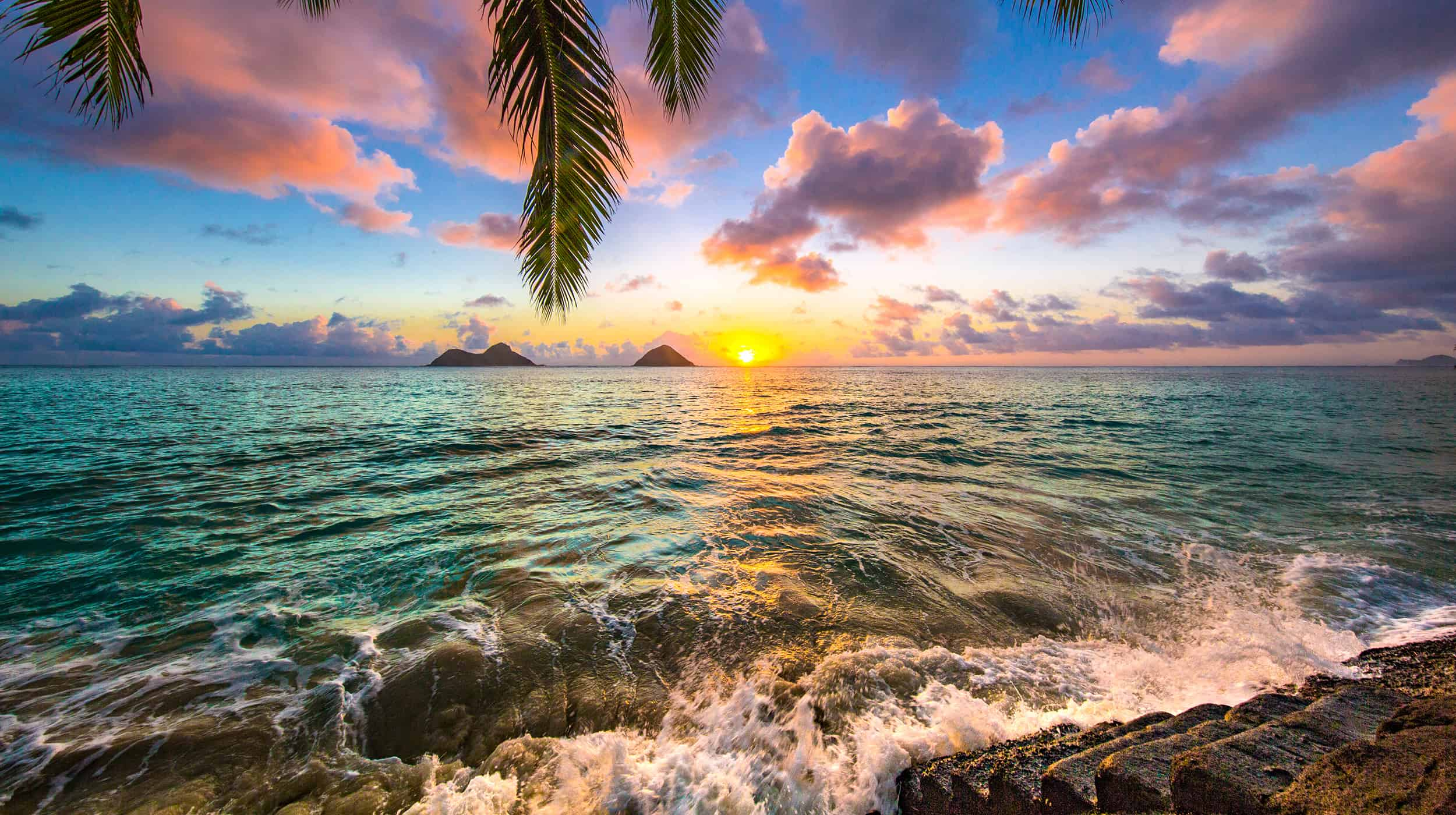 пляжи Гавайи